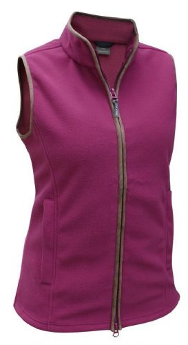Jack Pyke Ladies Countryman Fleece Gilet Roselle